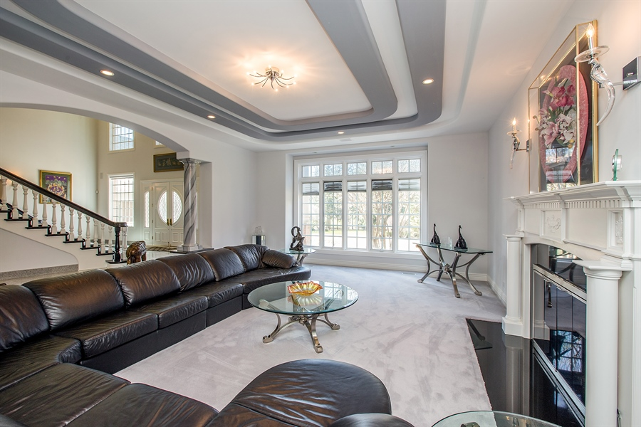 Real Estate Photography - 37 Polo Drive, South Barrington, IL, 60010 - Living Room