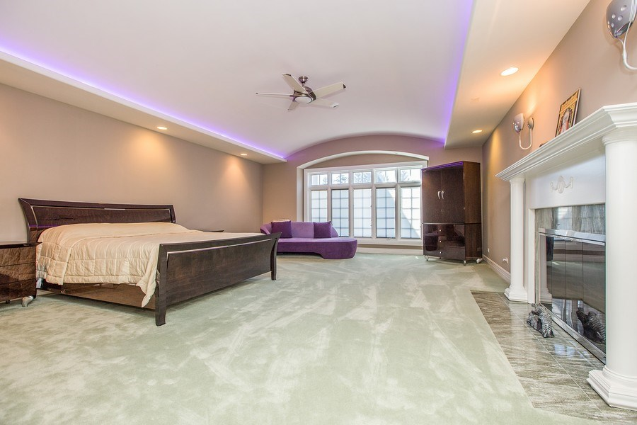 Real Estate Photography - 37 Polo Drive, South Barrington, IL, 60010 - Master Bedroom