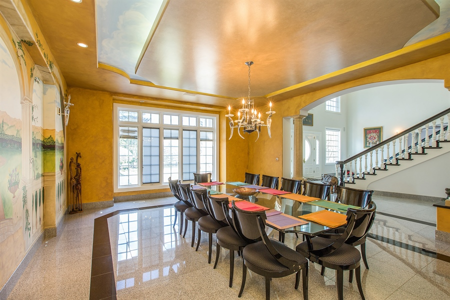 Real Estate Photography - 37 Polo Drive, South Barrington, IL, 60010 - Dining Room