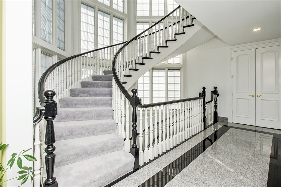 Real Estate Photography - 37 Polo Drive, South Barrington, IL, 60010 - Staircase