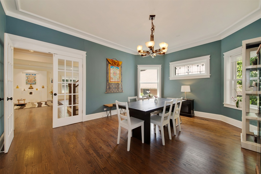 Real Estate Photography - 4722 N Malden St, Chicago, IL, 60640 - Dining Room