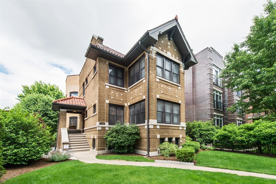 Real Estate Photography - 4722 N Malden St, Chicago, IL, 60640 - Front View