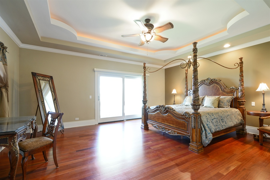 Real Estate Photography - 4 Cutters Run, South Barrington, IL, 60010 - Master Bedroom
