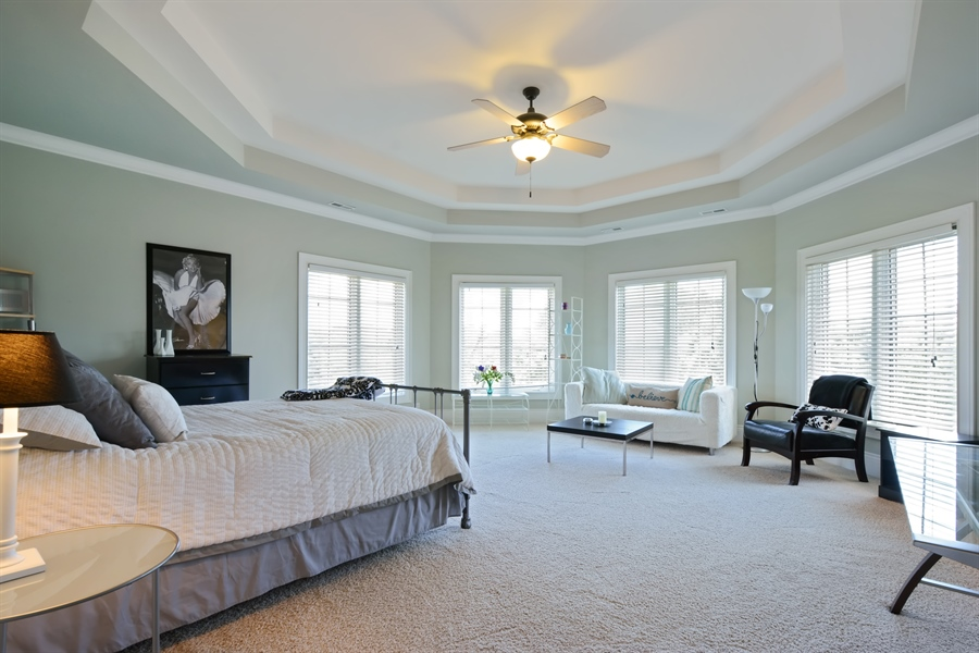 Real Estate Photography - 4 Cutters Run, South Barrington, IL, 60010 - 2nd Bedroom