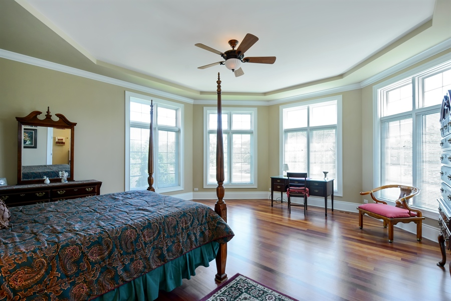 Real Estate Photography - 4 Cutters Run, South Barrington, IL, 60010 - 3rd Bedroom