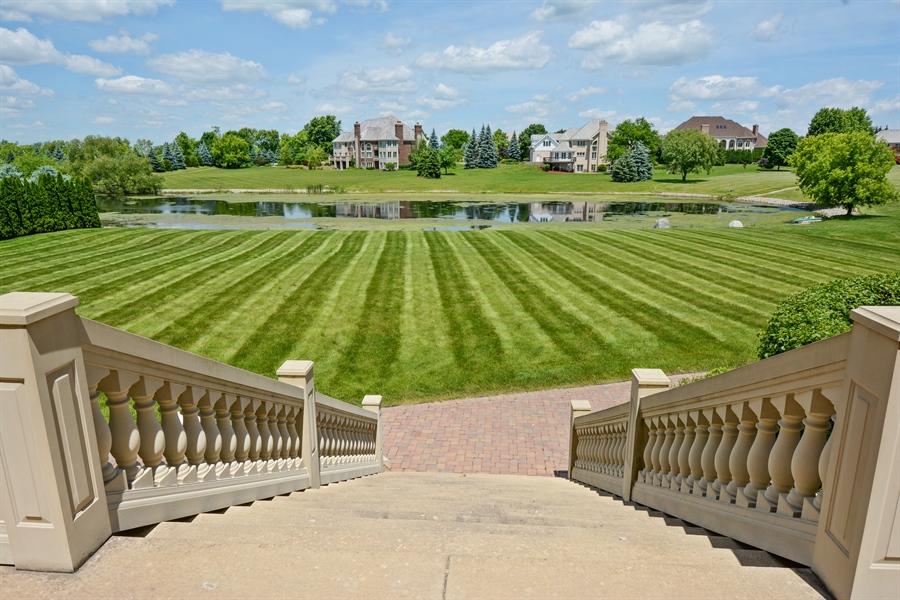 Real Estate Photography - 4 Cutters Run, South Barrington, IL, 60010 - Back Yard