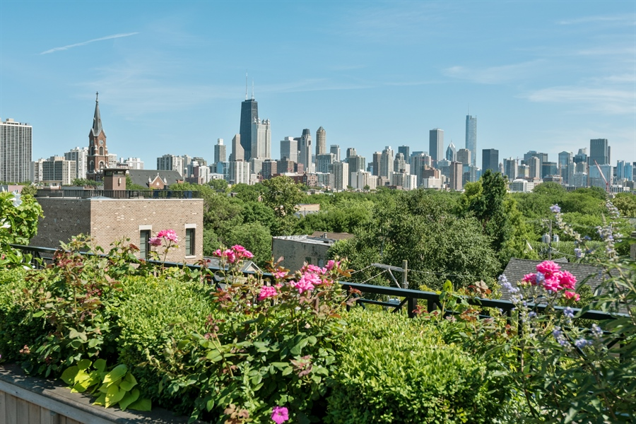 Real Estate Photography - 1841 N Orchard Street, Chicago, IL, 60614 - City View