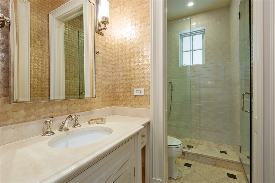 Real Estate Photography - 1841 N Orchard Street, Chicago, IL, 60614 - 5th Bathroom