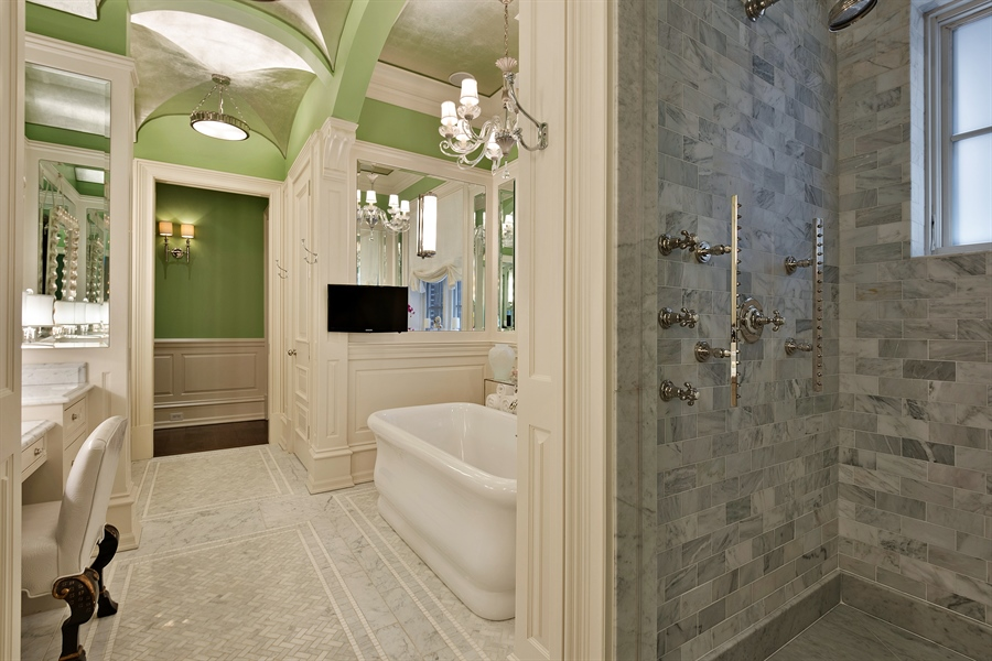 Real Estate Photography - 1841 N Orchard Street, Chicago, IL, 60614 - Master Bathroom