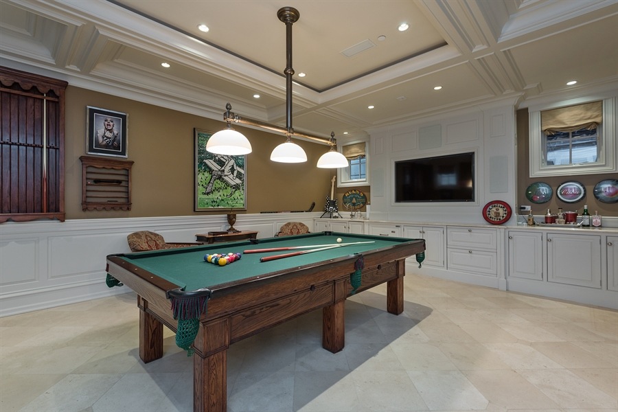 Real Estate Photography - 1841 N Orchard Street, Chicago, IL, 60614 - Recreational Room