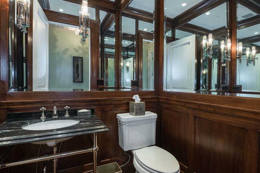 Real Estate Photography - 1841 N Orchard Street, Chicago, IL, 60614 - Library Water Closet