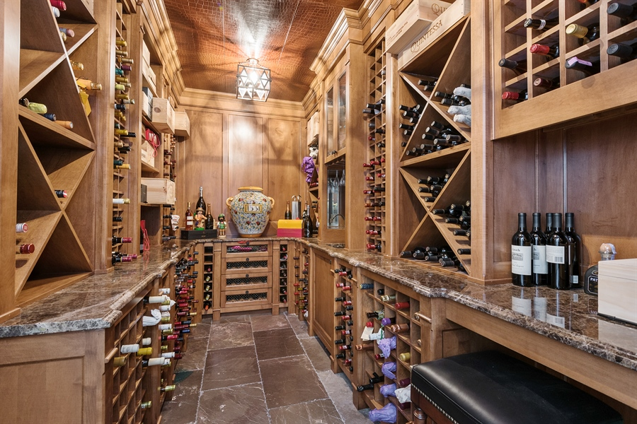 Real Estate Photography - 1841 N Orchard Street, Chicago, IL, 60614 - Wine Cellar
