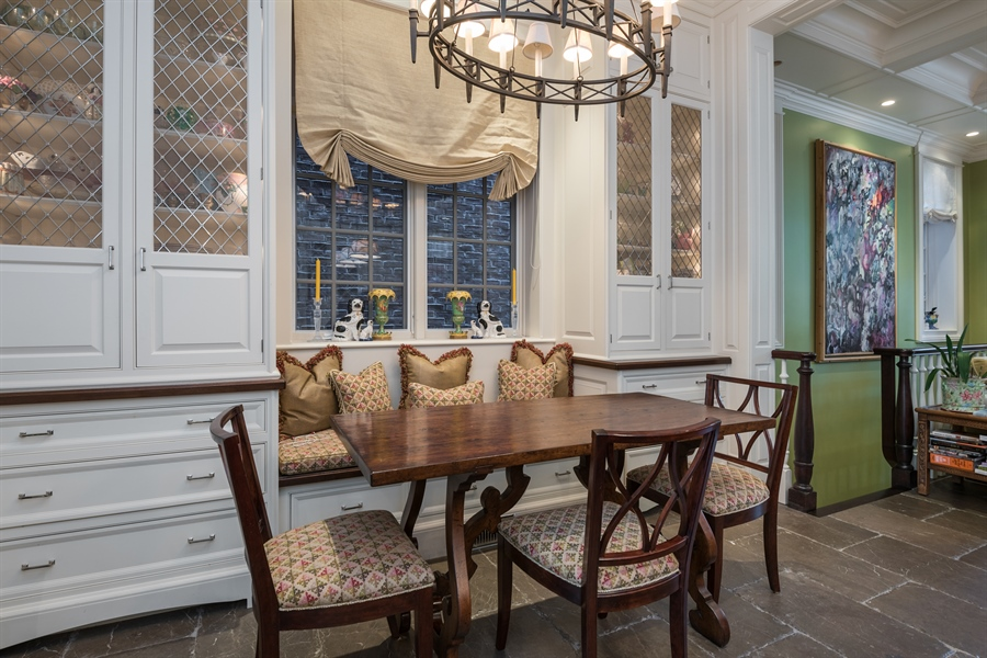 Real Estate Photography - 1841 N Orchard Street, Chicago, IL, 60614 - Breakfast Area