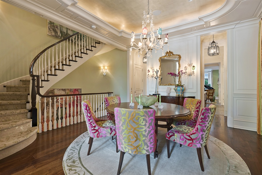 Real Estate Photography - 1841 N Orchard Street, Chicago, IL, 60614 - Dining Room