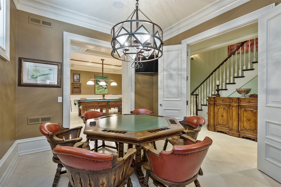 Real Estate Photography - 1841 N Orchard Street, Chicago, IL, 60614 - Game Room