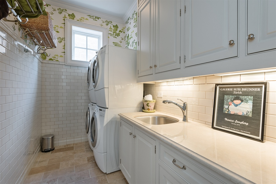 Real Estate Photography - 1841 N Orchard Street, Chicago, IL, 60614 - Laundry Room
