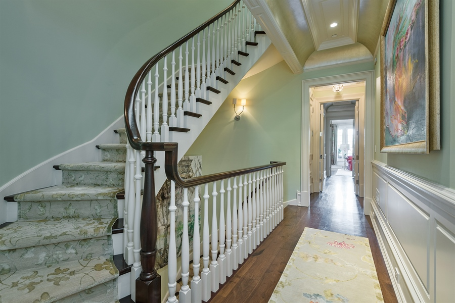 Real Estate Photography - 1841 N Orchard Street, Chicago, IL, 60614 - Staircase