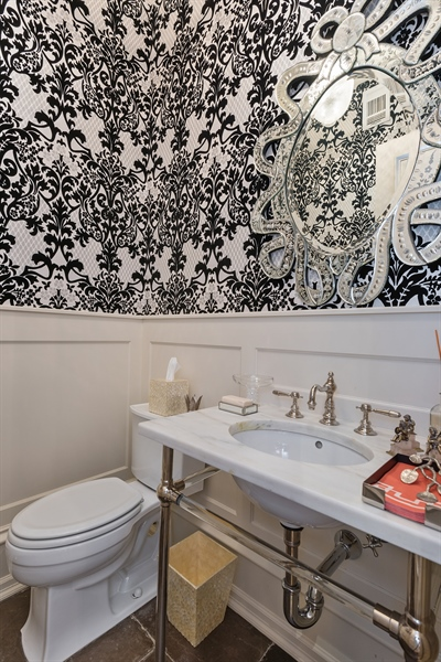 Real Estate Photography - 1841 N Orchard Street, Chicago, IL, 60614 - Powder Room