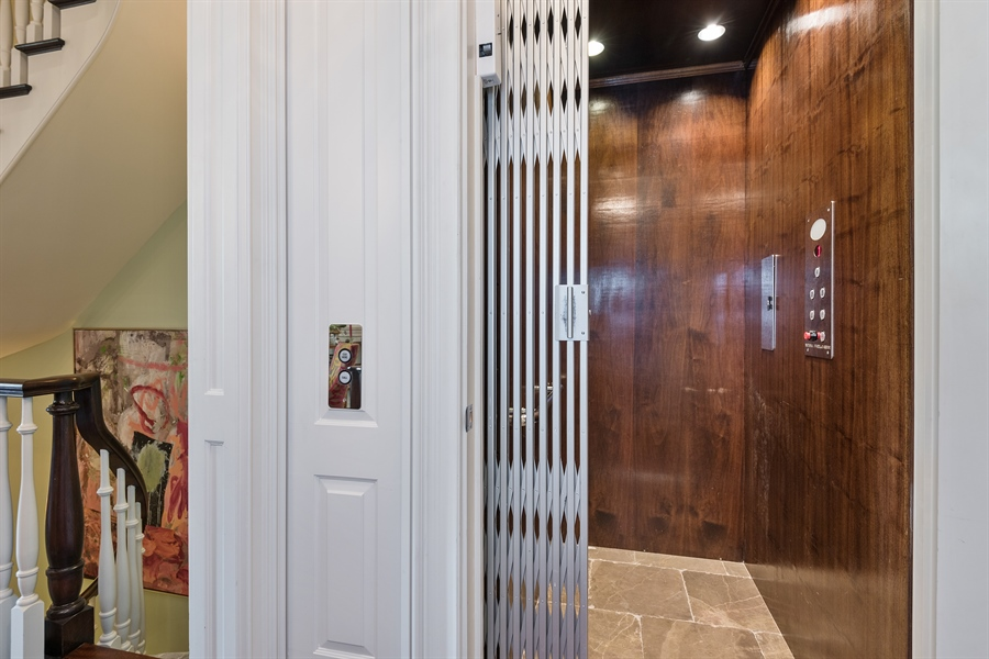 Real Estate Photography - 1841 N Orchard Street, Chicago, IL, 60614 - Elevator