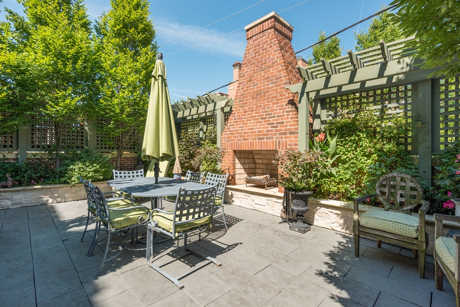 Real Estate Photography - 1841 N Orchard Street, Chicago, IL, 60614 - Terrace Main Level