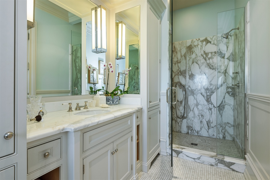 Real Estate Photography - 1841 N Orchard Street, Chicago, IL, 60614 - 2nd Bathroom