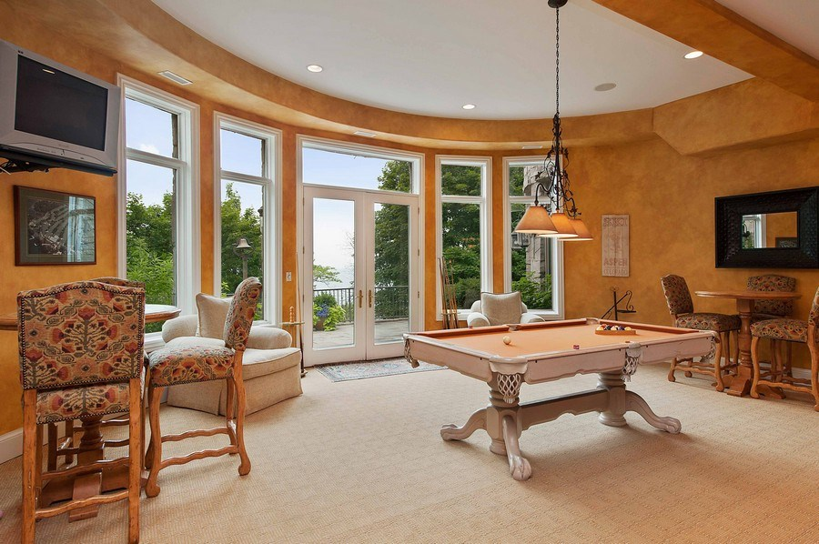 Real Estate Photography - 1215 Whitebridge Hill Ln, Winnetka, IL, 60093 - Gameroom