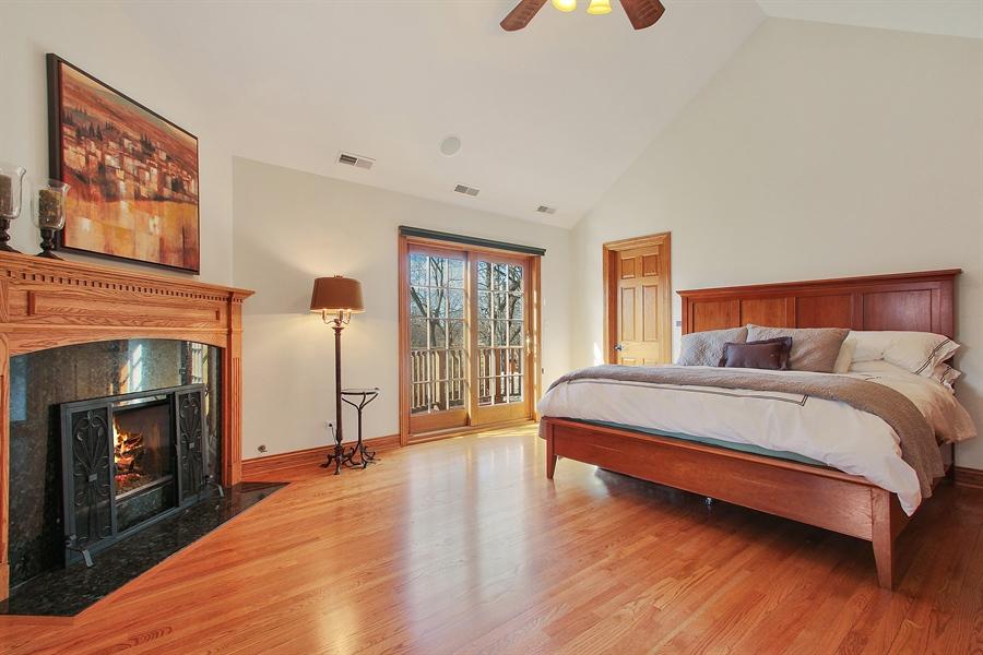 Real Estate Photography - 930 N. Glenayre Dr., Glenview, IL, 60025 - Master Bedroom