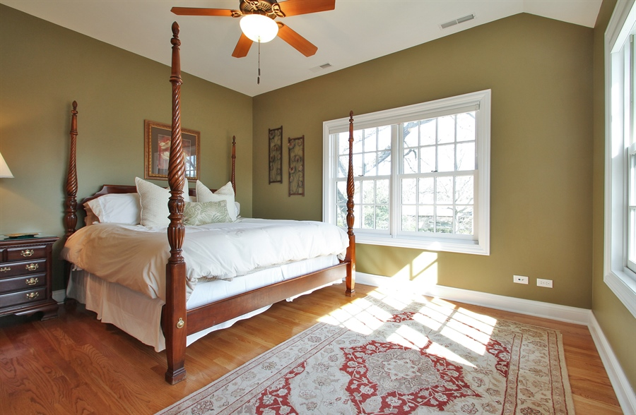 Real Estate Photography - 930 N. Glenayre Dr., Glenview, IL, 60025 - 2nd Bedroom