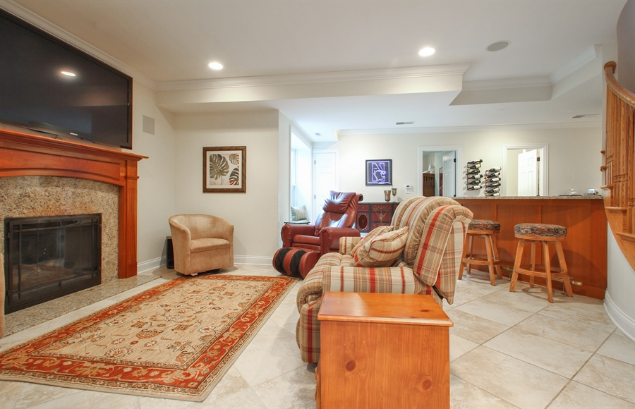 Real Estate Photography - 930 N. Glenayre Dr., Glenview, IL, 60025 - Lower Level