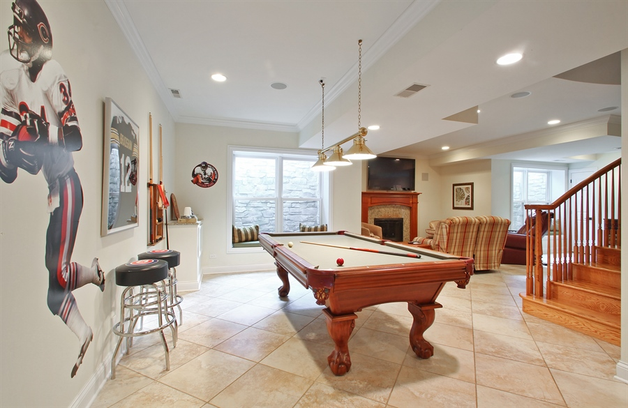 Real Estate Photography - 930 N. Glenayre Dr., Glenview, IL, 60025 - Recreational Area