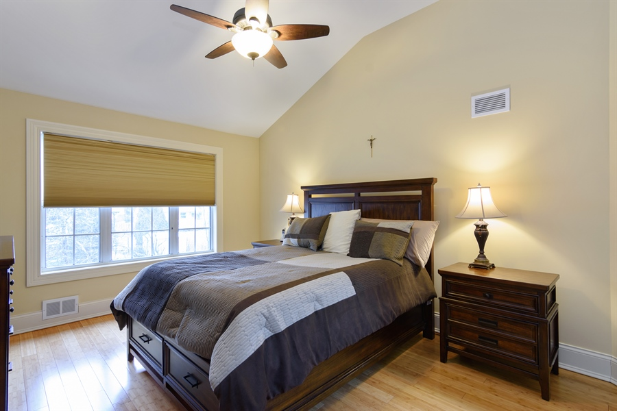 Real Estate Photography - 720 Foxmoore, Lake Zurich, IL, 60047 - Master Bedroom