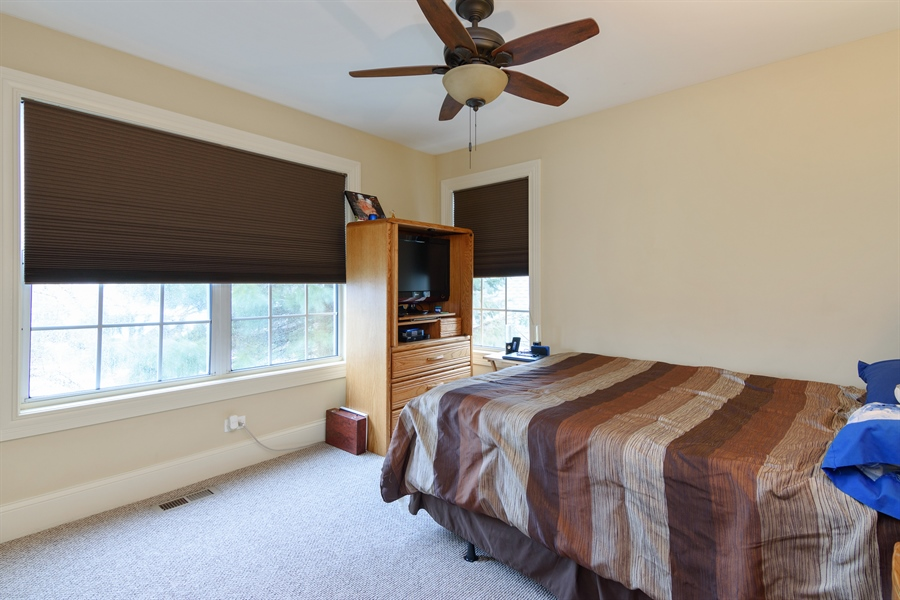 Real Estate Photography - 720 Foxmoore, Lake Zurich, IL, 60047 - 2nd Bedroom