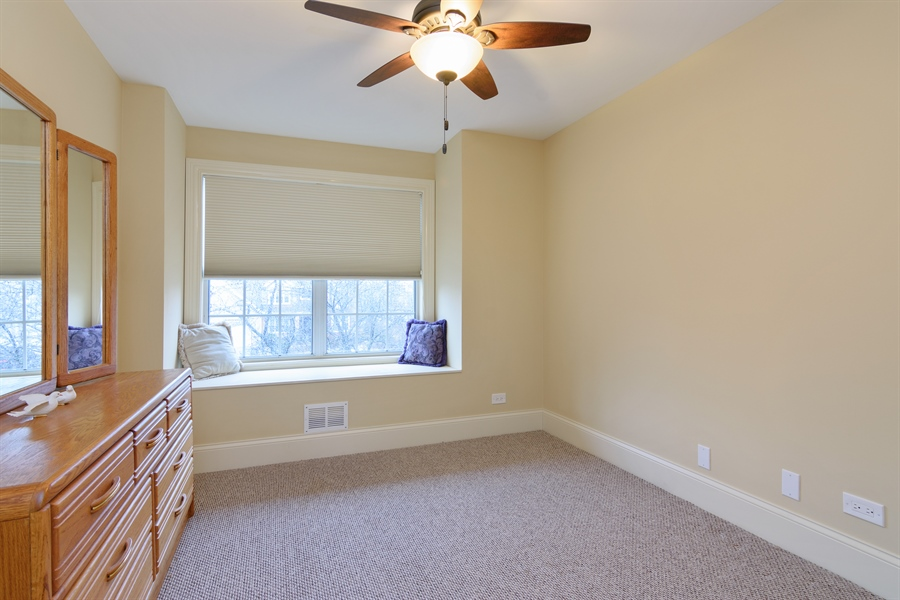 Real Estate Photography - 720 Foxmoore, Lake Zurich, IL, 60047 - 3rd Bedroom
