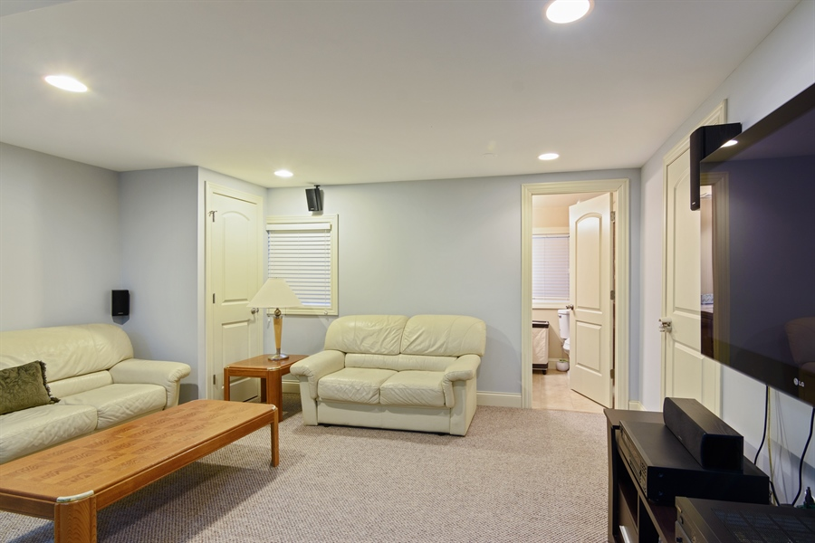 Real Estate Photography - 720 Foxmoore, Lake Zurich, IL, 60047 - Recreational Room
