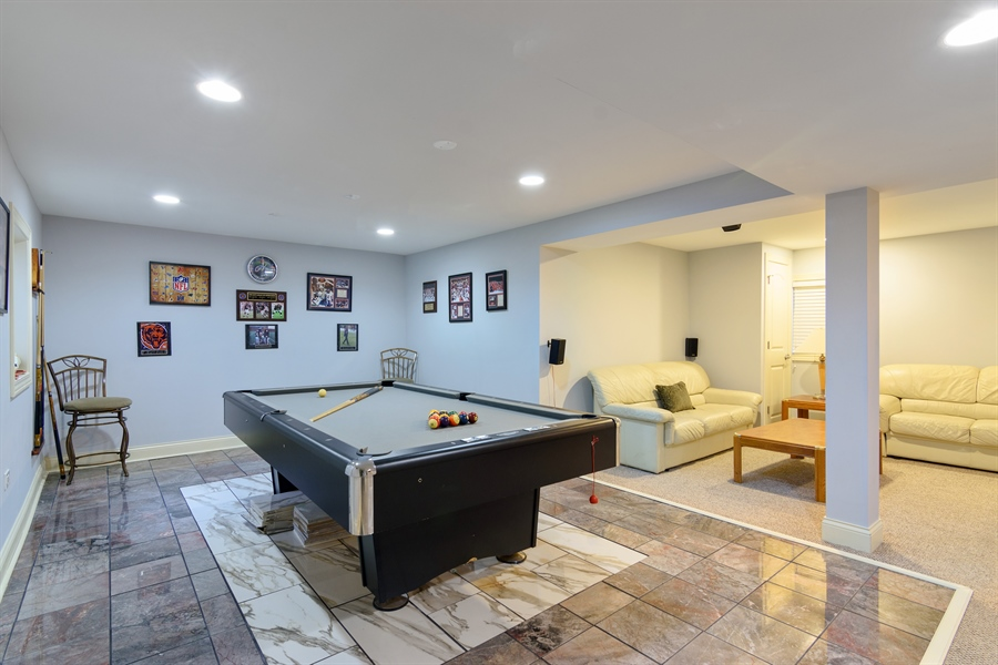 Real Estate Photography - 720 Foxmoore, Lake Zurich, IL, 60047 - Basement