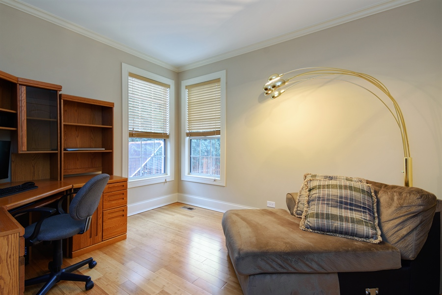 Real Estate Photography - 720 Foxmoore, Lake Zurich, IL, 60047 - Office