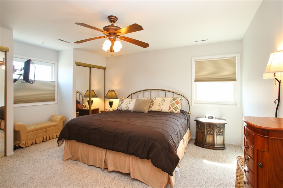 Real Estate Photography - 1938 Vermont, Rolling Meadows, IL, 60008 - Master Bedroom