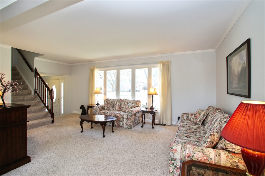 Real Estate Photography - 1938 Vermont, Rolling Meadows, IL, 60008 - Living Room