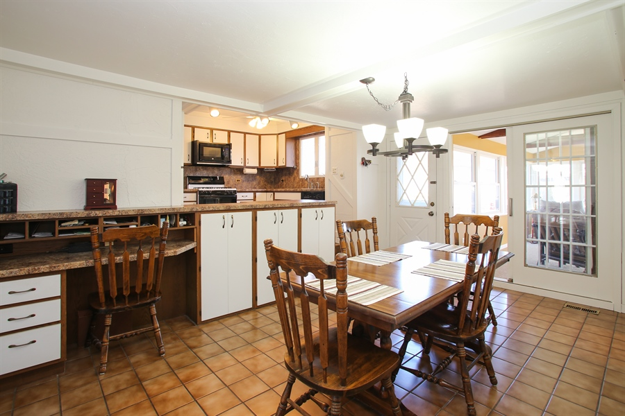 Real Estate Photography - 1938 Vermont, Rolling Meadows, IL, 60008 - Dining Area