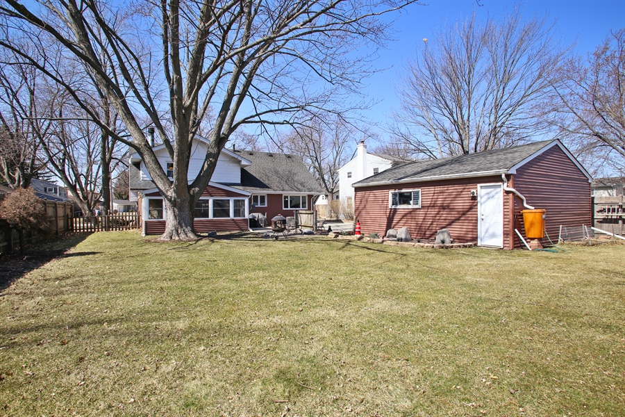 Real Estate Photography - 1938 Vermont, Rolling Meadows, IL, 60008 - Rear View