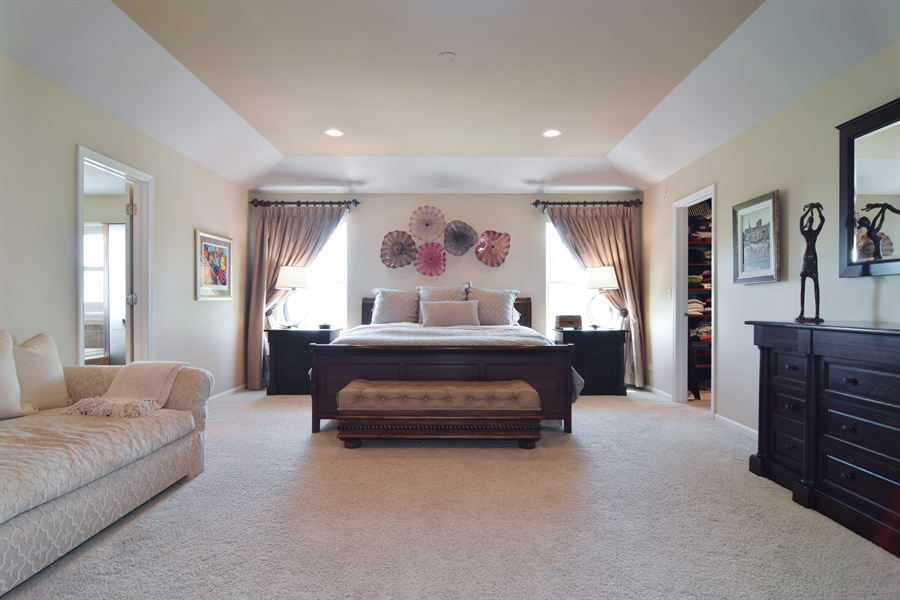 Real Estate Photography - 5485 Nicholson Dr., Hoffman Estates, IL, 60192 - Master Bedroom