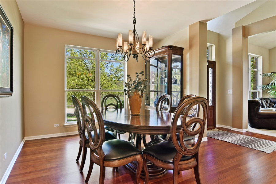 Real Estate Photography - 5485 Nicholson Dr., Hoffman Estates, IL, 60192 - Dining Room