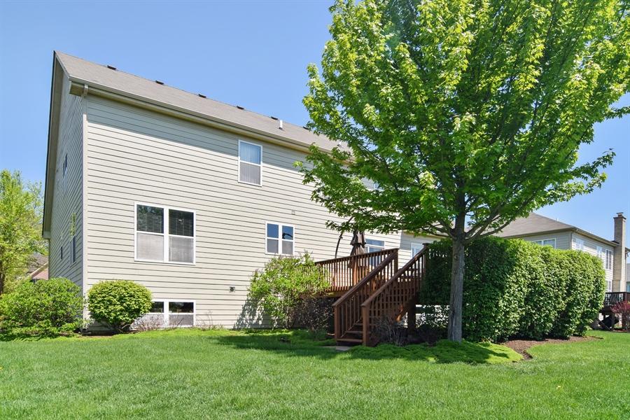 Real Estate Photography - 5485 Nicholson Dr., Hoffman Estates, IL, 60192 - Rear View