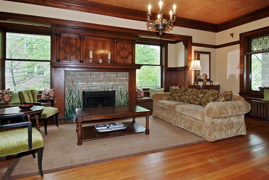 Real Estate Photography - 422 Forest Avenue, Oak Park, IL, 60302 - Living Room