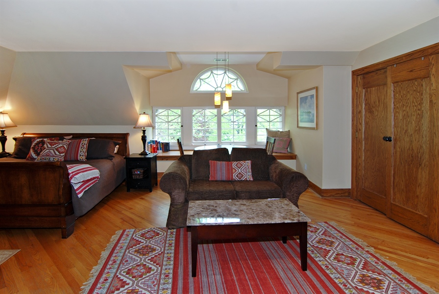 Real Estate Photography - 422 Forest Avenue, Oak Park, IL, 60302 - 6th Bedroom/3rd Floor Family Room