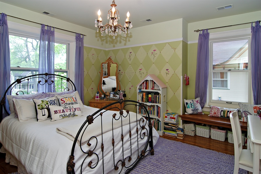 Real Estate Photography - 422 Forest Avenue, Oak Park, IL, 60302 - 2nd Bedroom