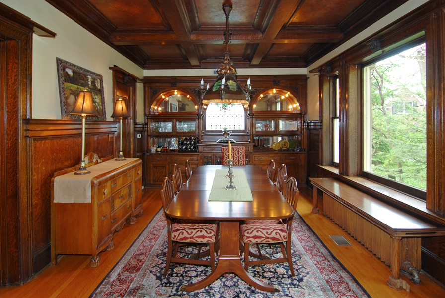 Real Estate Photography - 422 Forest Avenue, Oak Park, IL, 60302 - Formal Dining Room