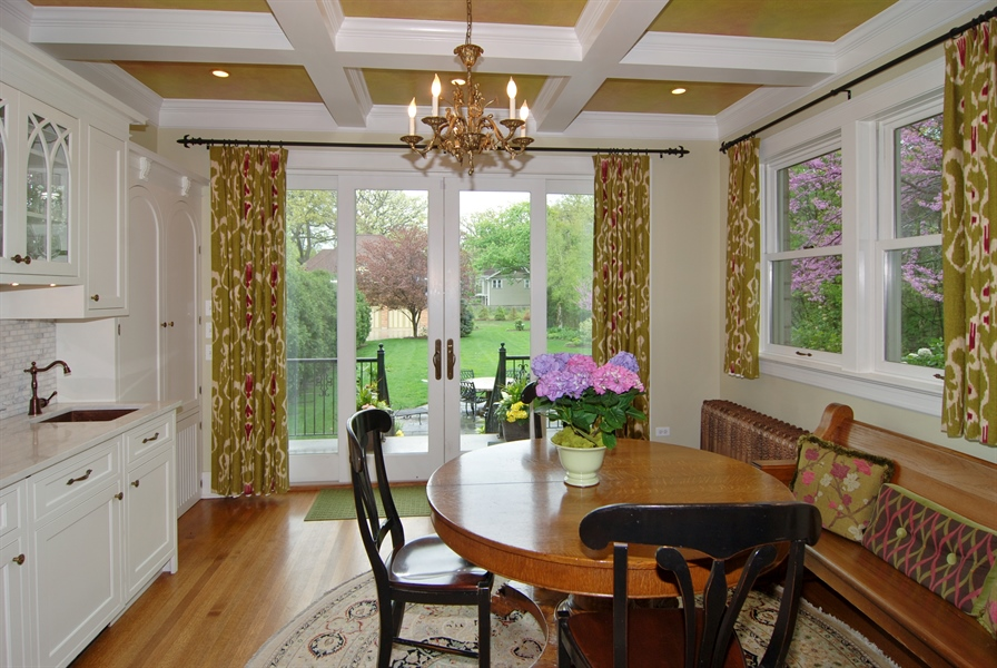 Real Estate Photography - 422 Forest Avenue, Oak Park, IL, 60302 - Breakfast Room