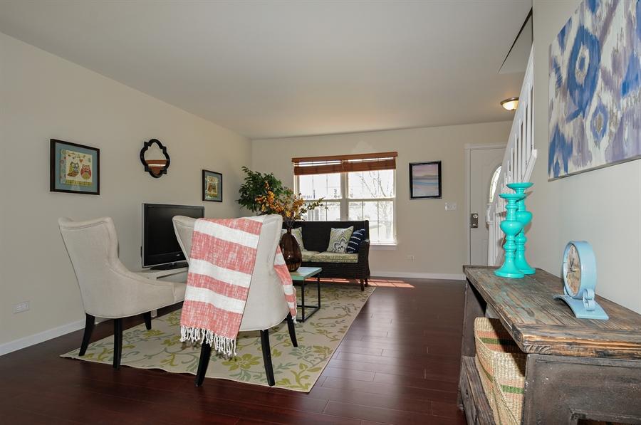 Real Estate Photography - 6147 Southridge Dr, Plainfield, IL, 60586 - Living Room