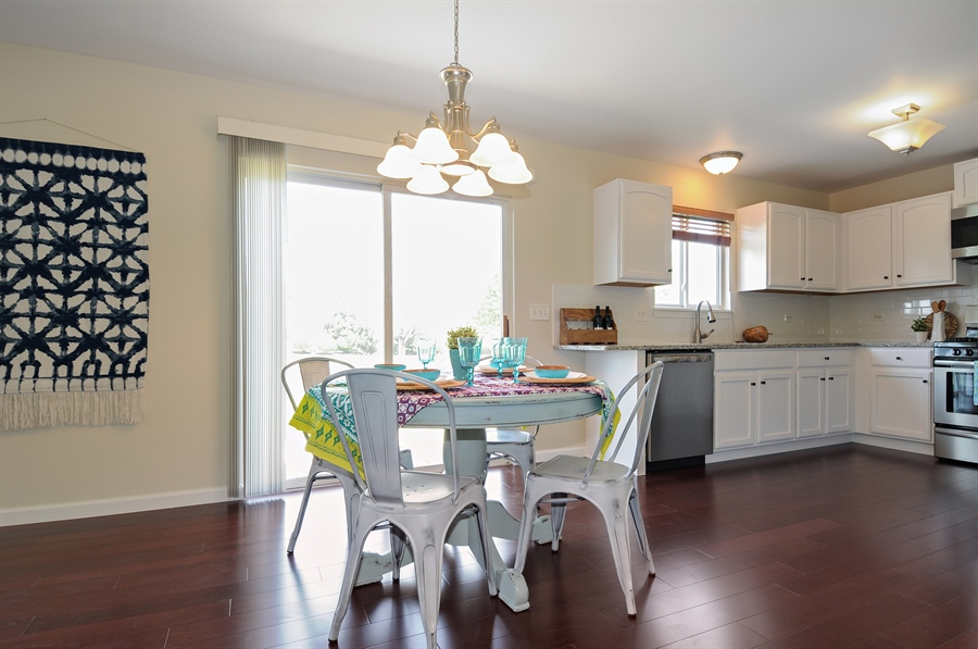 Real Estate Photography - 6147 Southridge Dr, Plainfield, IL, 60586 - Kitchen / Breakfast Room